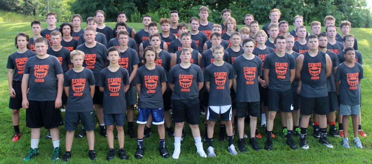Elk Mound 2019 football team photo