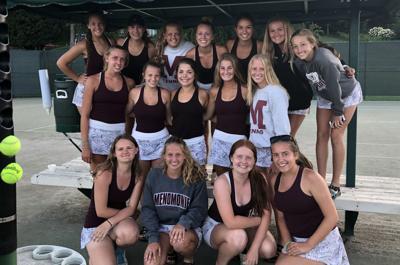 Menomonie girls tennis 2019 team photo