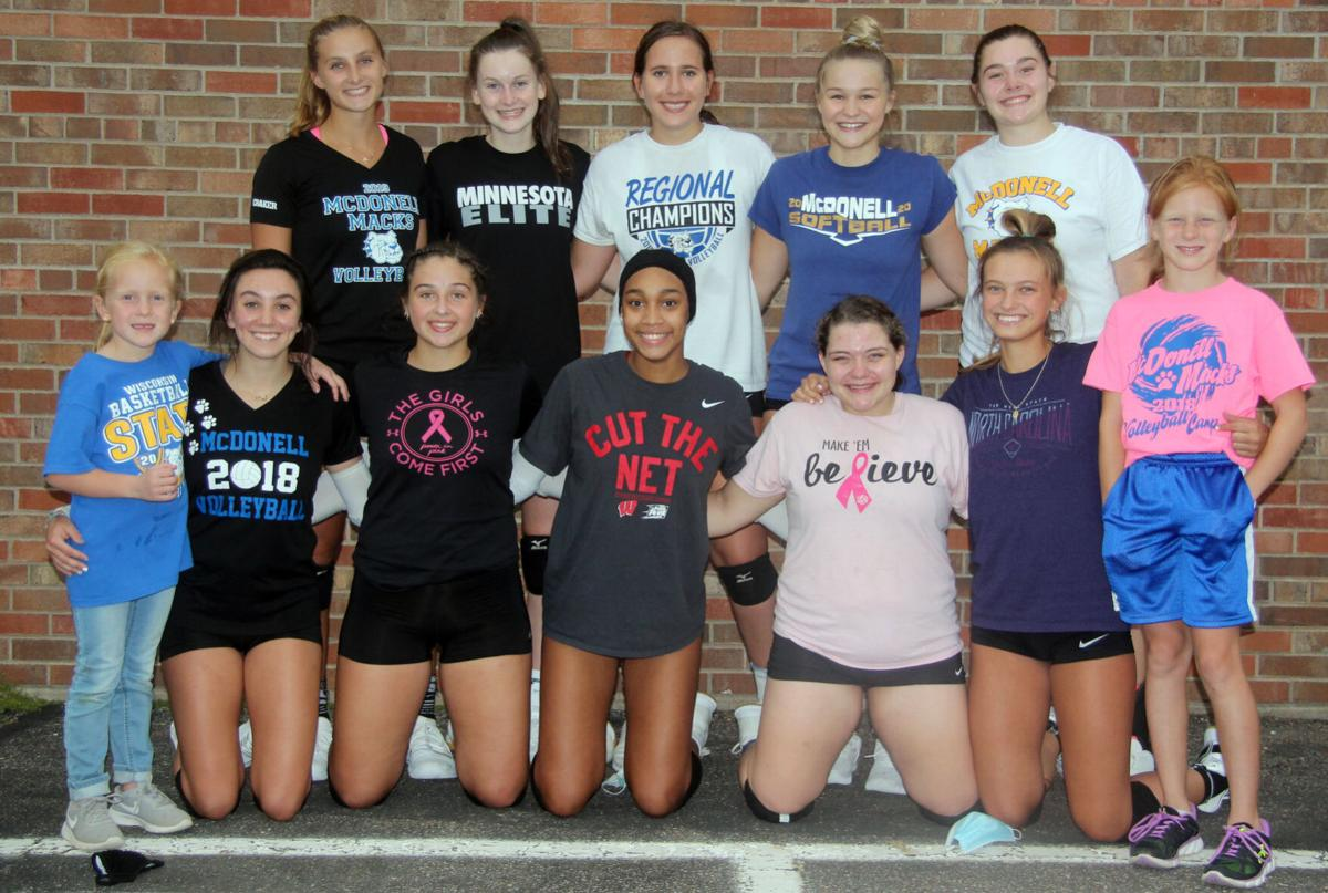 2020 McDonell Volleyball Team