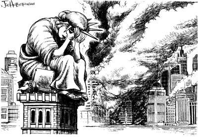 Original cartoon on 9/11