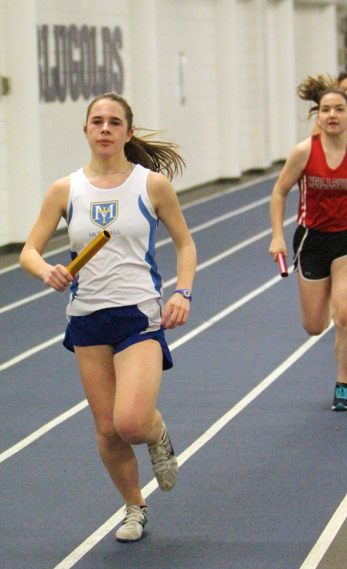 McDonell Track and Field Scrimmage at UW-Eau Claire 4-13-18