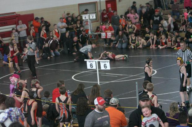 Photos: Chippewa Falls Youth Wrestling Tournament 2-16-14