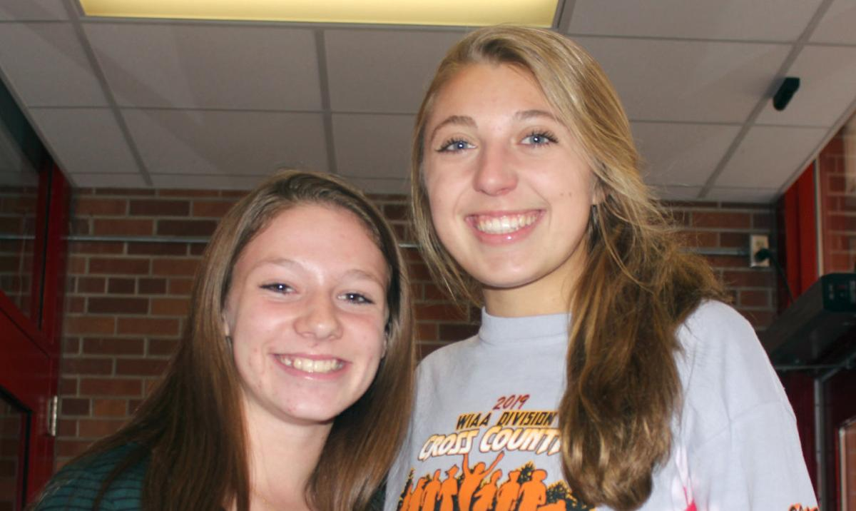 Haley Mason and Ella Behling