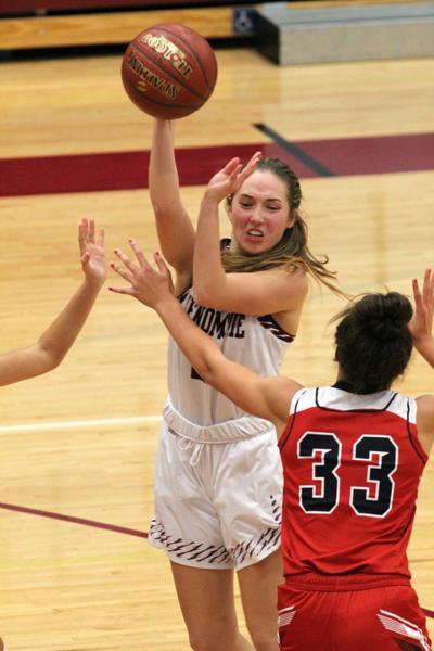 Chippewa Falls at Menomonie girls basketball 12-6-19
