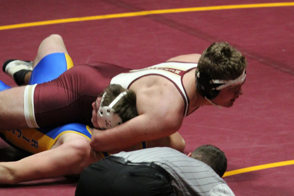 Rice Lake at Menomonie wrestling 12-19-19