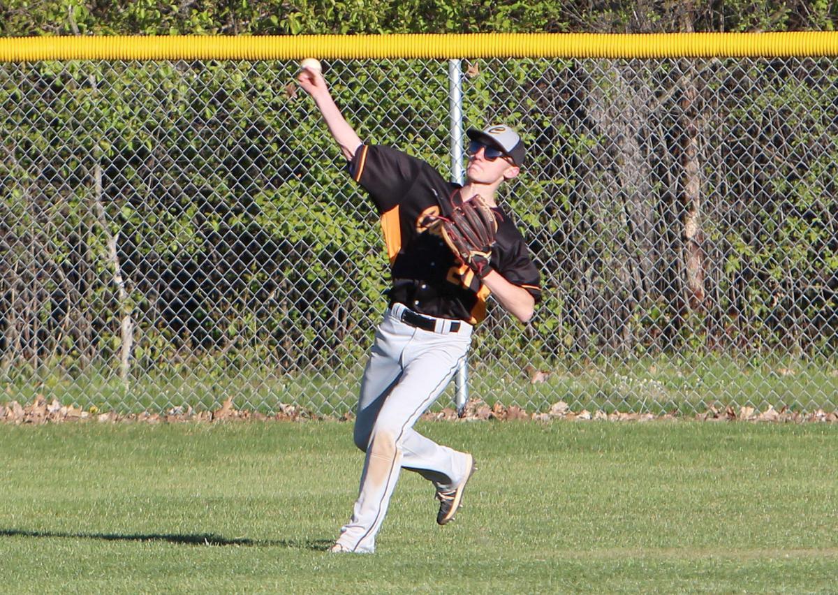 Thorp/Gilman at Cadott baseball 5-11-21