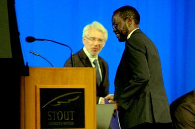 Kenyan governor Peter Anyang Nyong'o