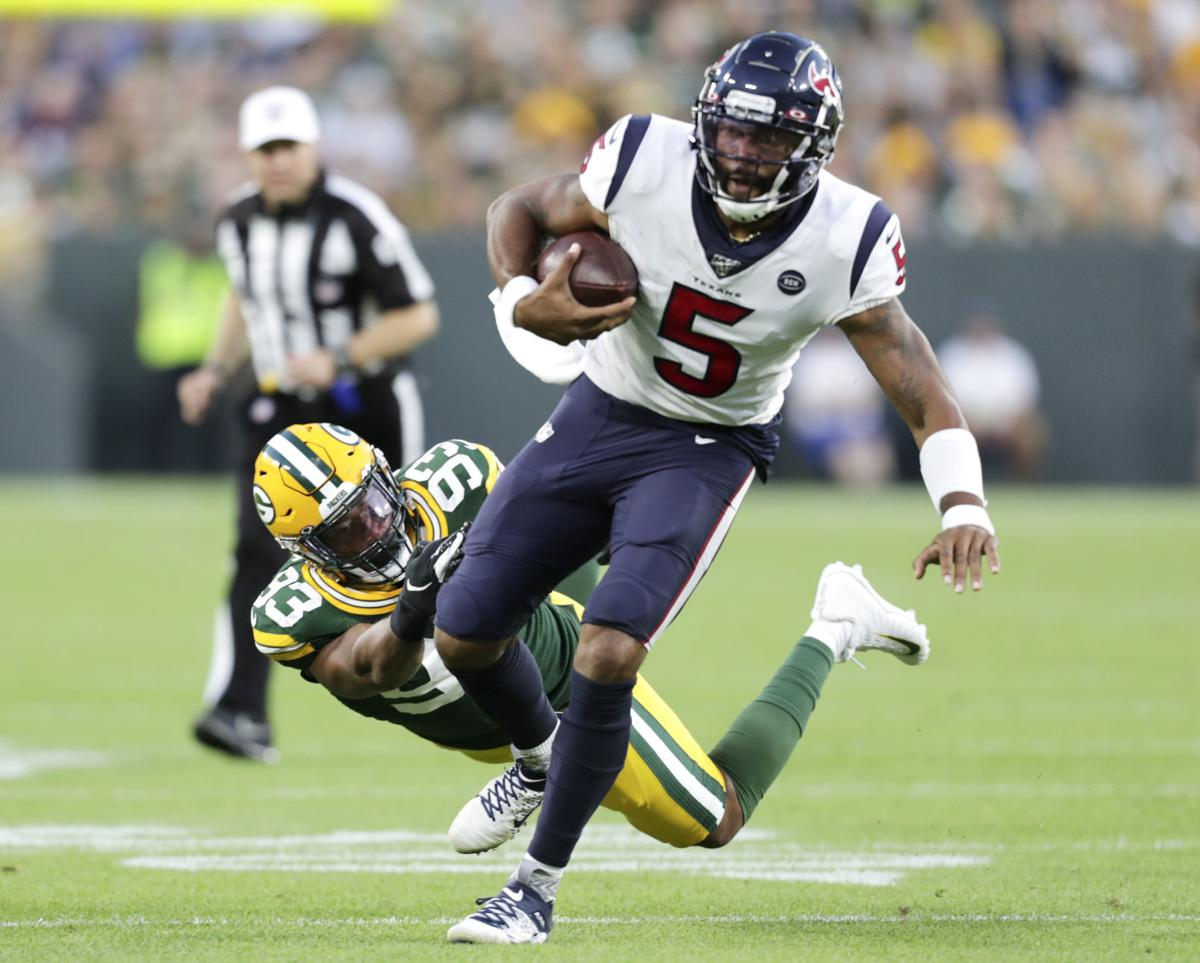Packers 28, Texans 26