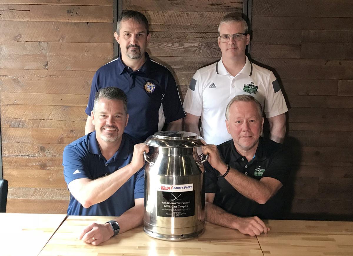 Blain's Farm & Fleet America's Dairyland Milk Can Trophy