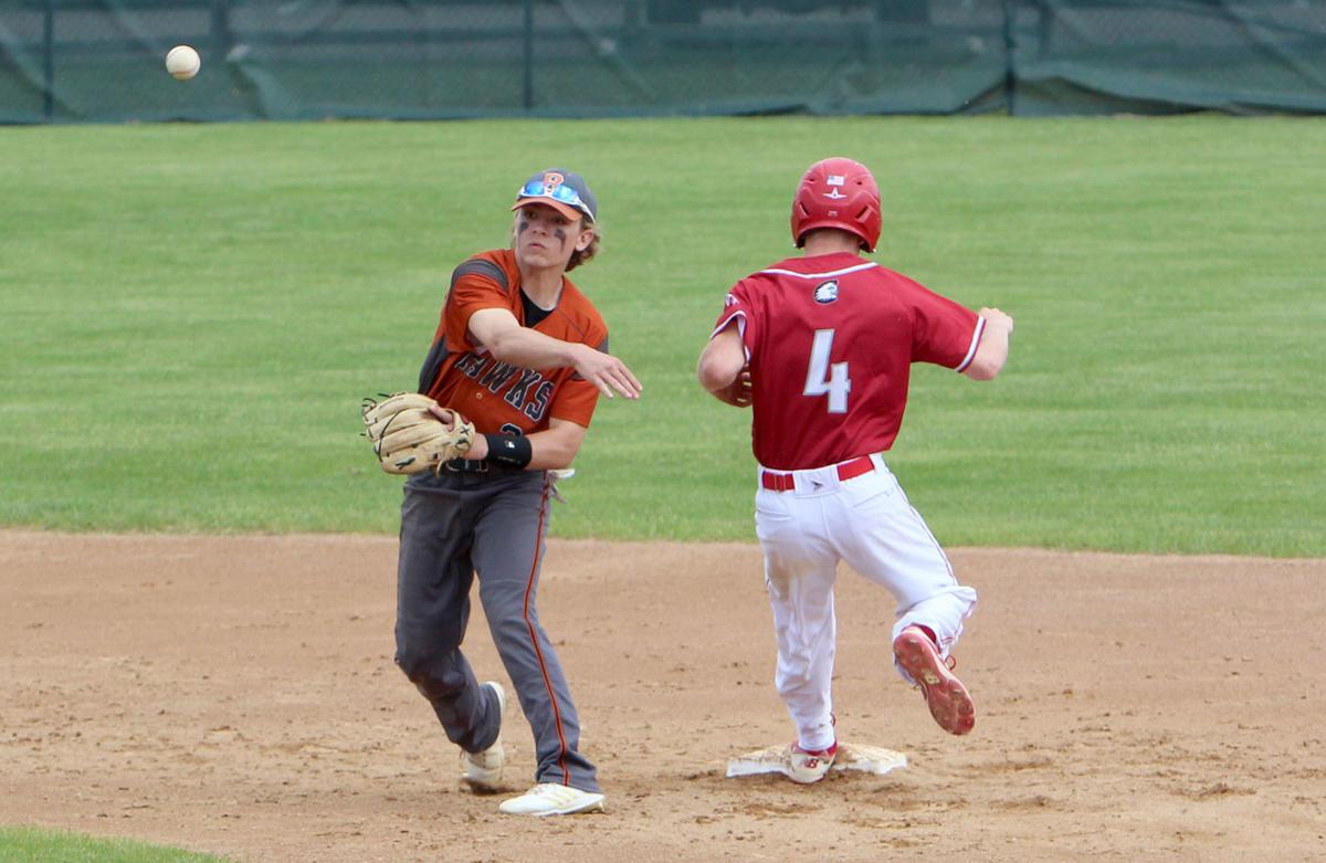 Bloomer baseball vs Cumberland at Casper Park 6-4-19