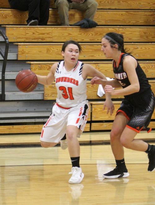 Bloomer at Elk Mound girls basketball 11-20-18