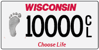 Specialty license plate