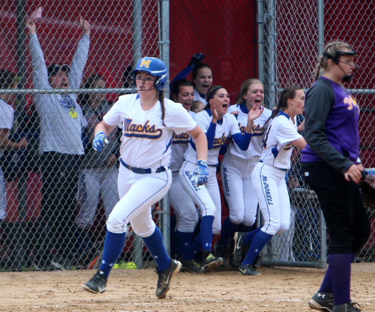 Gilman at McDonell softball 5-30-17