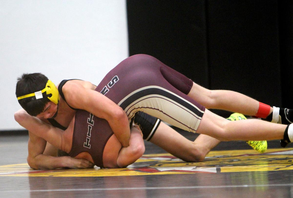 Cadott wrestling invitational 1-7-17