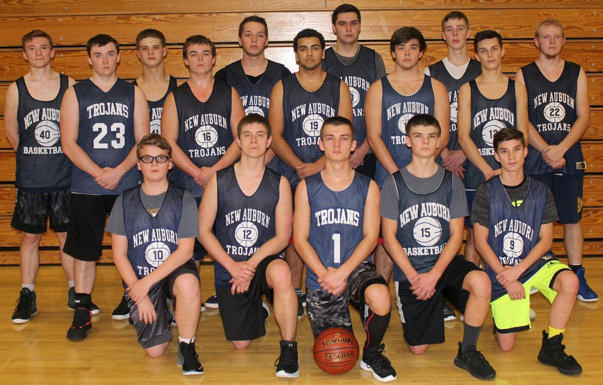2019-20 New Auburn Boys Basketball Team