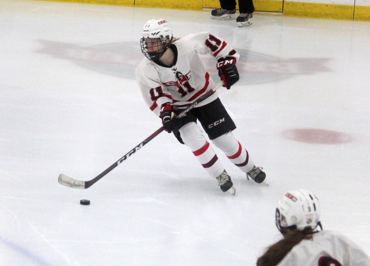 Hudson at Chi-Hi/Menomonie girls hockey 1-10-19