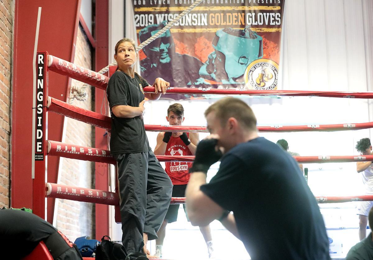 Andrea Nelson training
