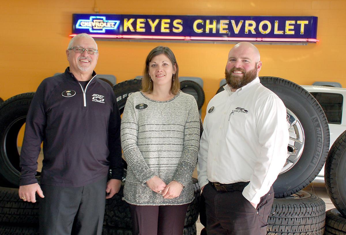Bill, Kami and Joe Keyes