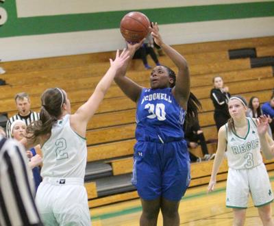 McDonell girls basketball at Eau Claire Regis 1-9-20