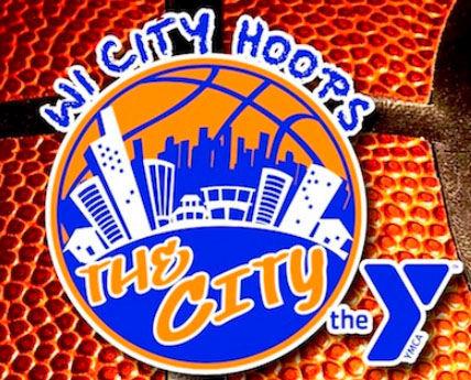 Wisconsin City Hoops logo