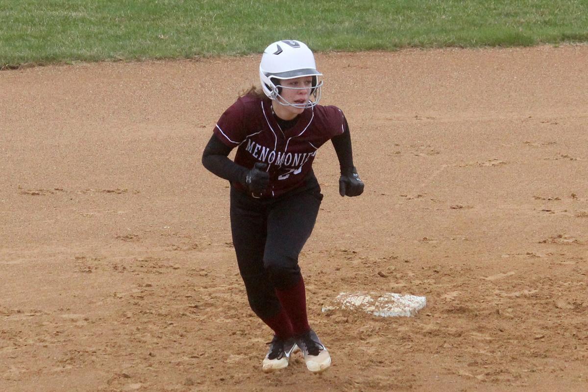 Menomonie at Chi-Hi softball 4-30-19