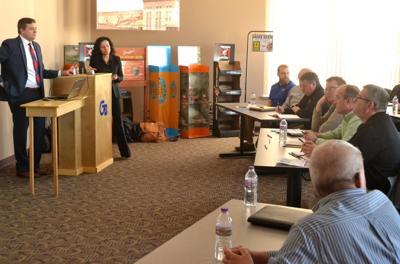 WEDC-Foxconn talk in Chippewa Falls 1