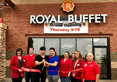 Royal Buffet Ribbon Cutting
