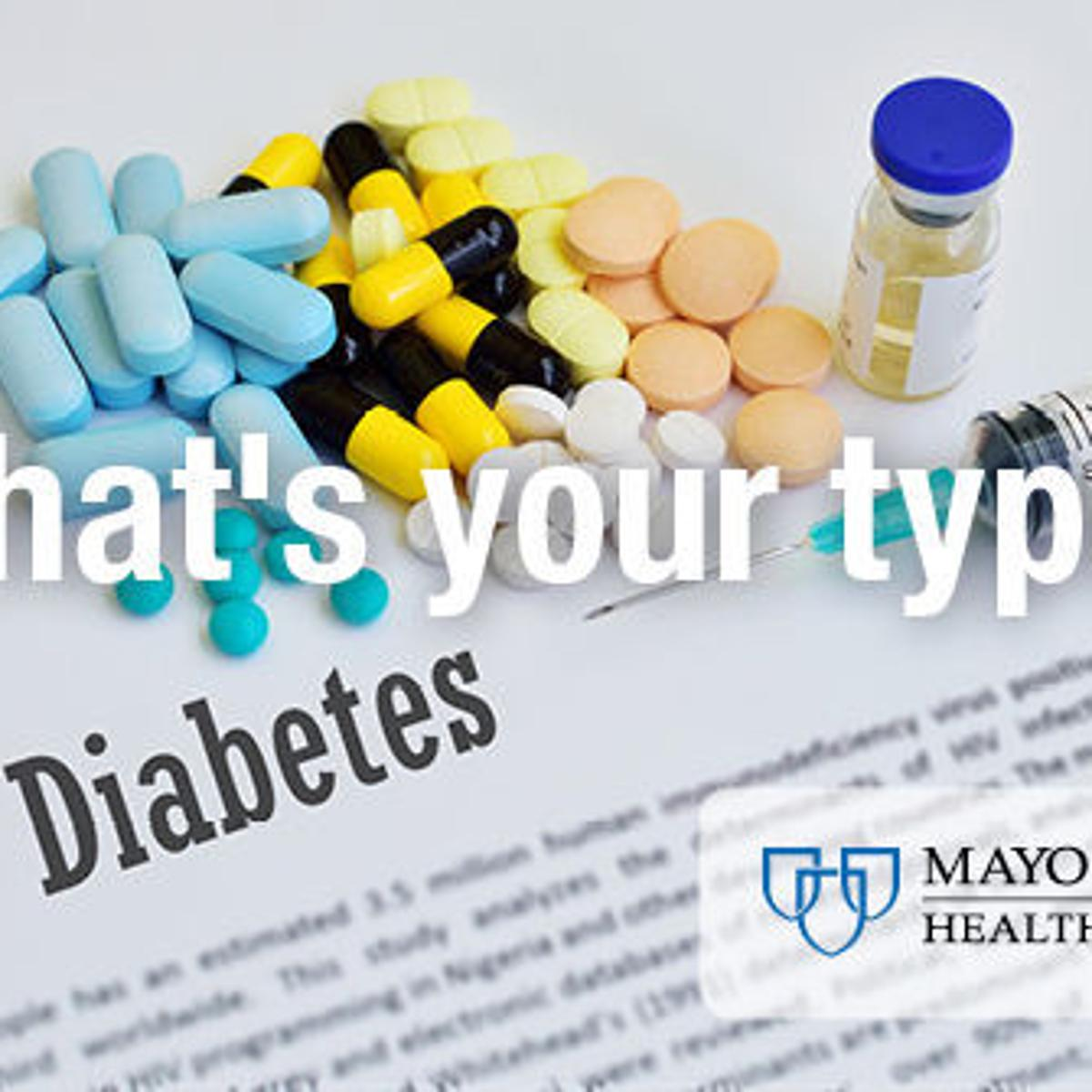 Mayo Clinic Health System: Identifying types of diabetes