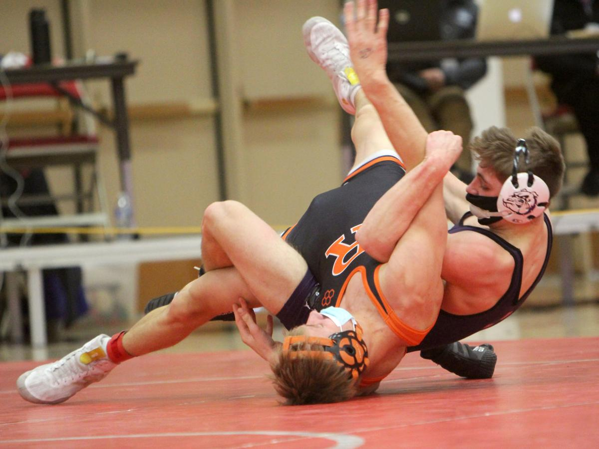 Tournoi de lutte individuelle WIAA Division 3 State à Wausau East 2-13-21