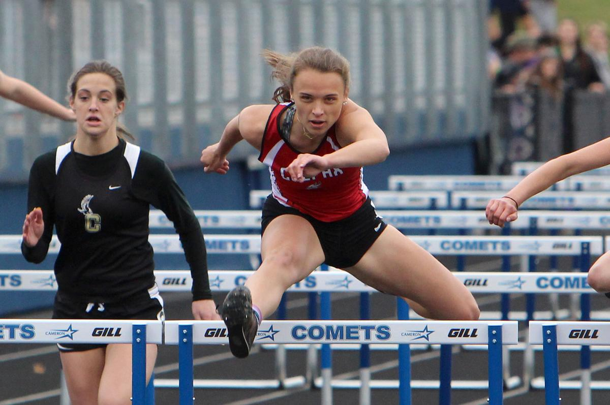 Division 3 track and field sectionals at Cameron 5-23-19