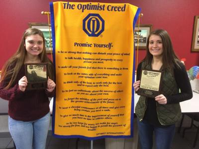 Optimist Youth of the Month