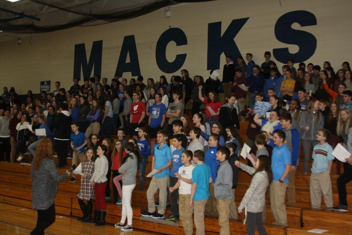 McDonell Pep Assembly