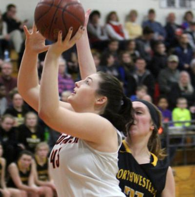 Northwestern at Bloomer girls basketball 2-1-19