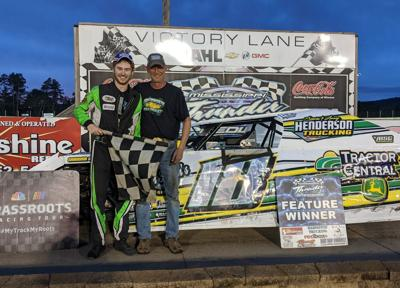 Tyler Werner racing