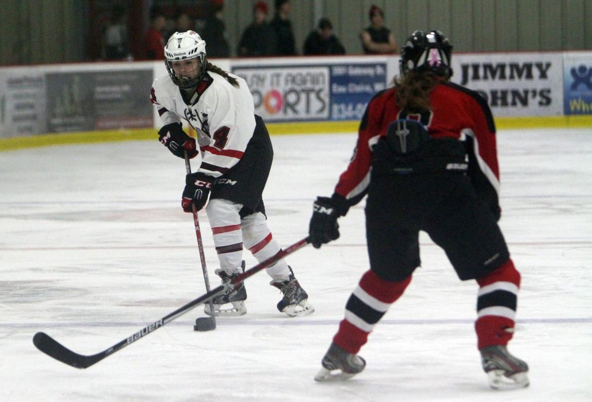 Medford at Chi-Hi/Menomonie girls hockey, 12-8-16