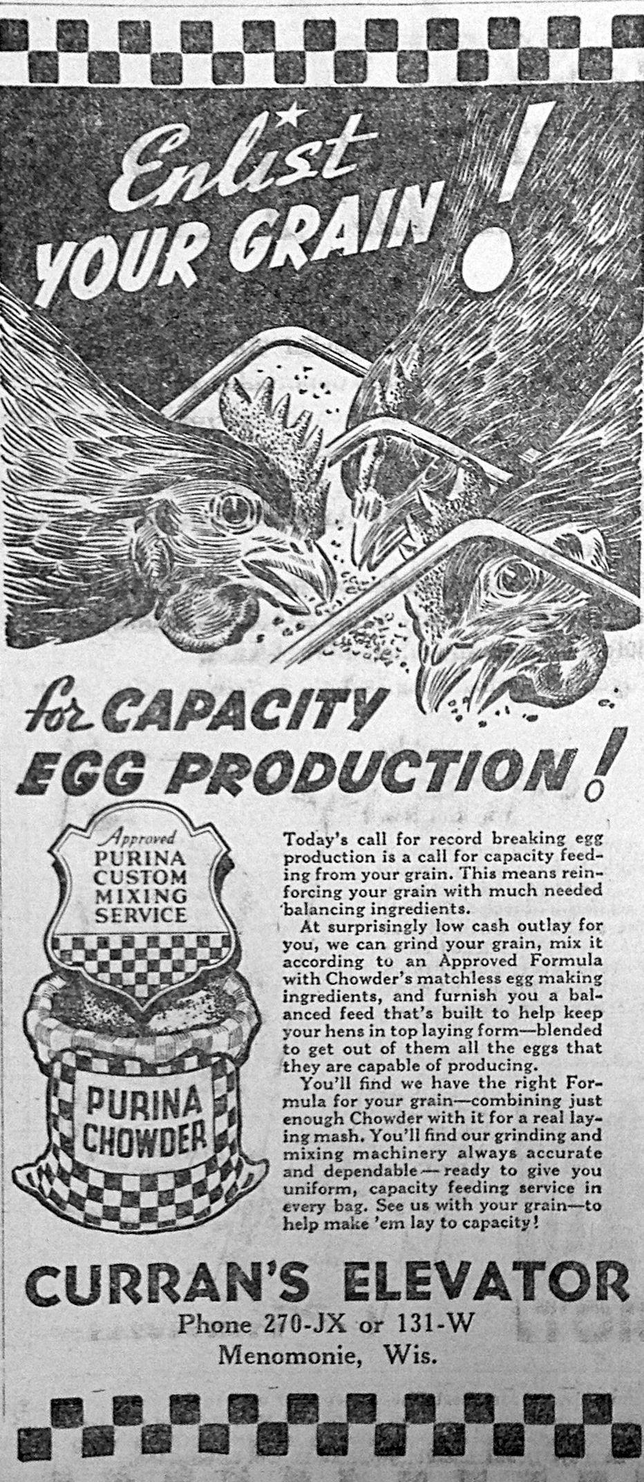WW II ad