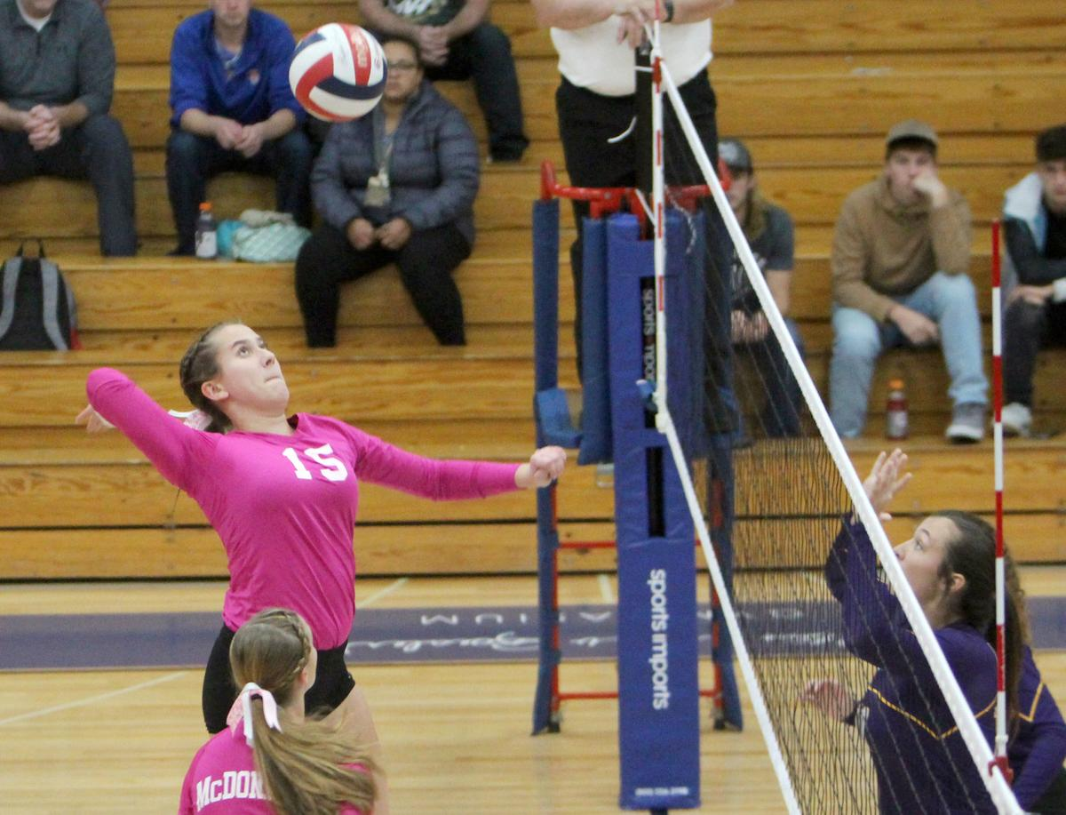 Gilman at McDonell volleyball 10-15-19