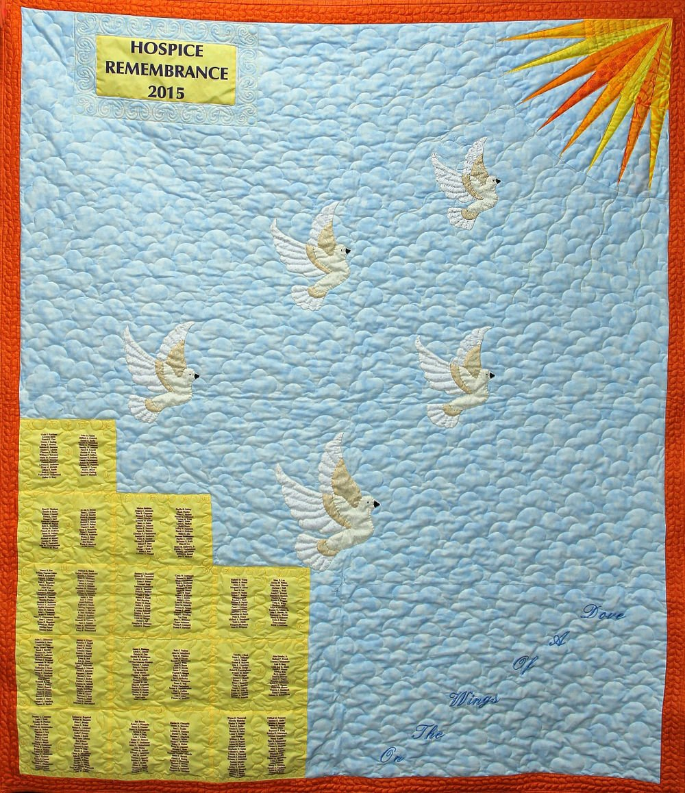 Mayo Clinic 2015 remembrance quilt
