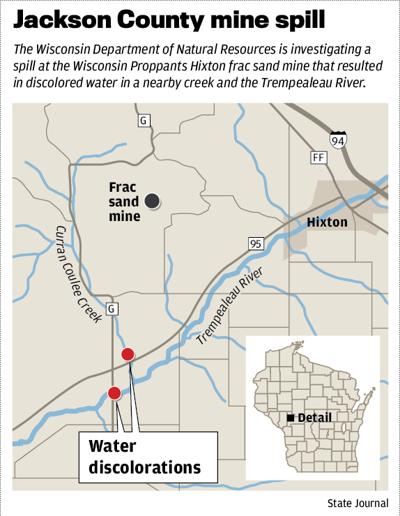 Jackson County mine spill