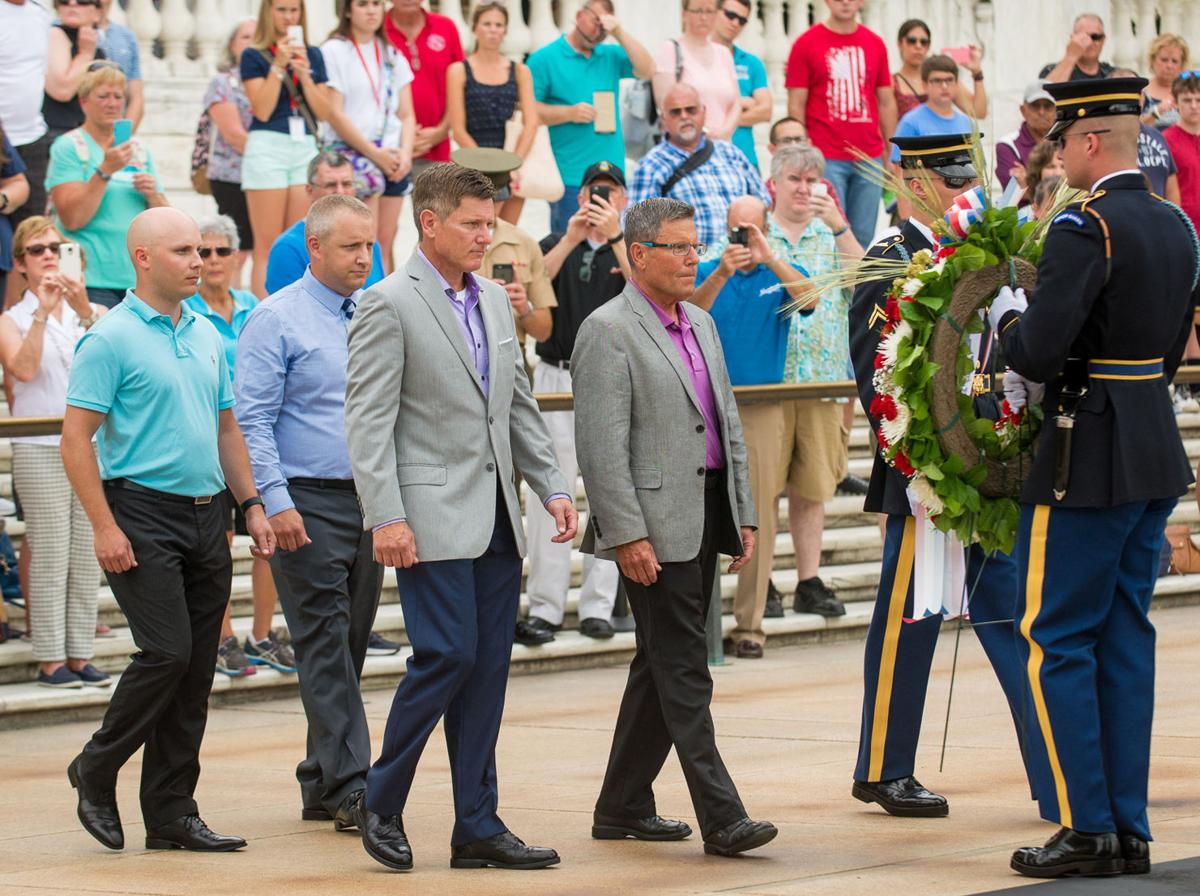 Leinenkugels go to Arlington National Cemetery
