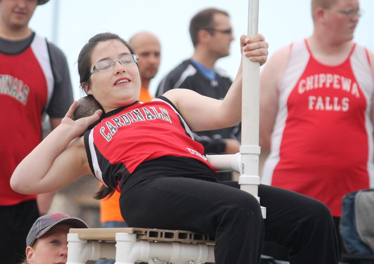 Chi-Hi at Eau Claire Memorial track and field triangular, 5-5-15