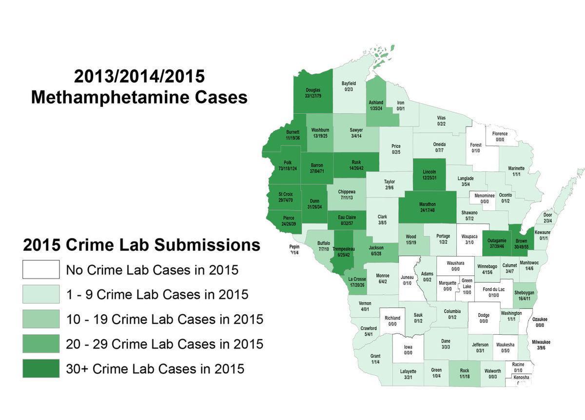 Methamphetamine cases