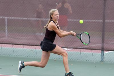 Altoona at Menomonie girls tennis 10-3-19