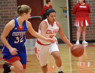 Mondovi at Colfax girls basketball 1-4-19