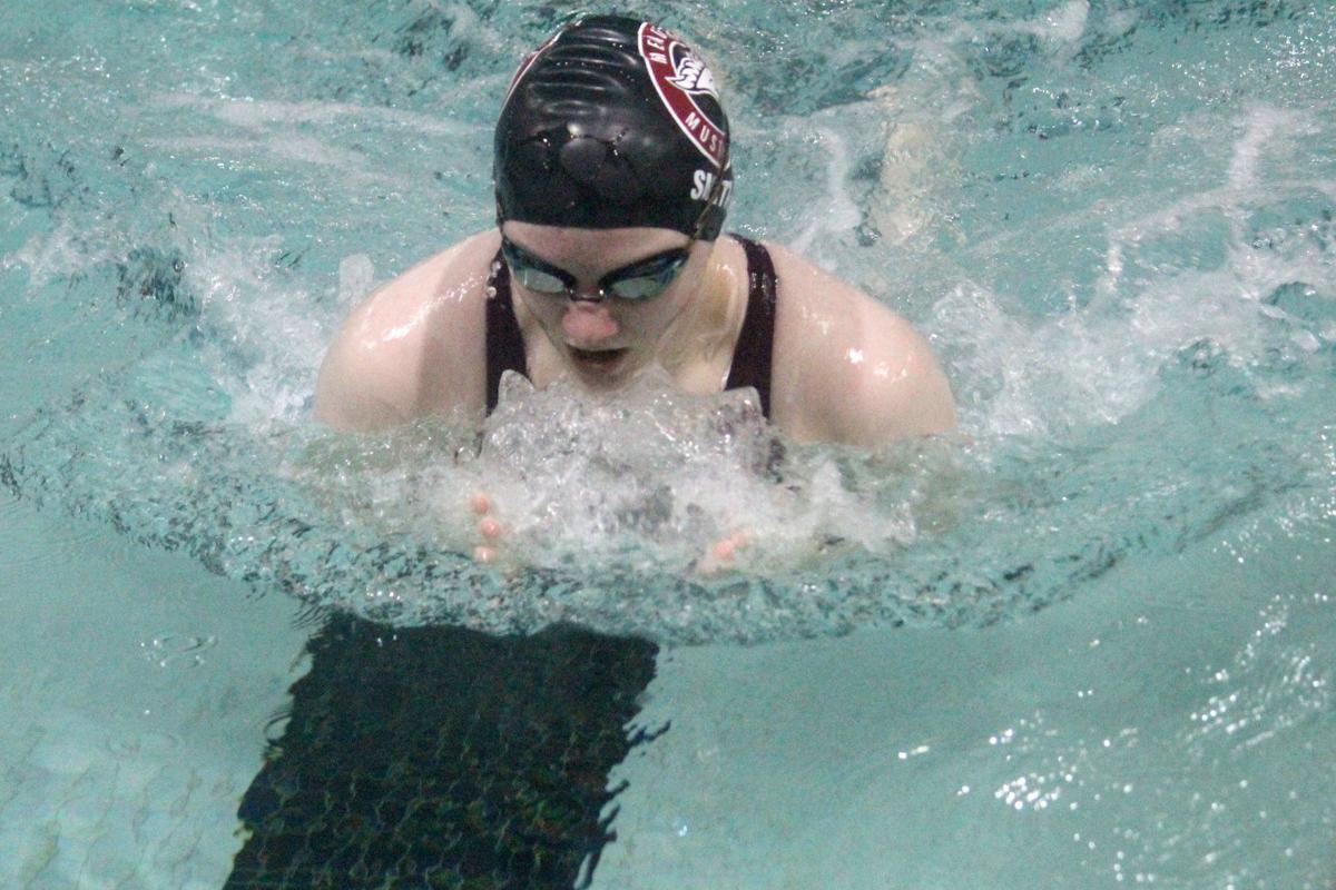 Menomonie girls swim and dive triangular 9-24-19