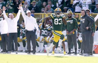Marquez Valdes-Scantling - Packers vs. Raiders