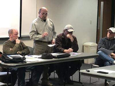 County Deer Advisory Council CWD meeting