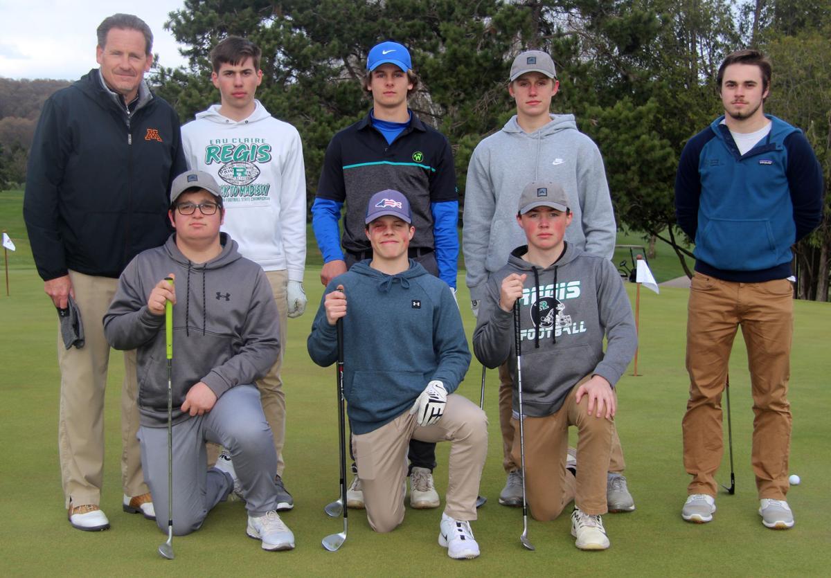 2021 McDonell/Eau Claire Regis Boys Golf Team