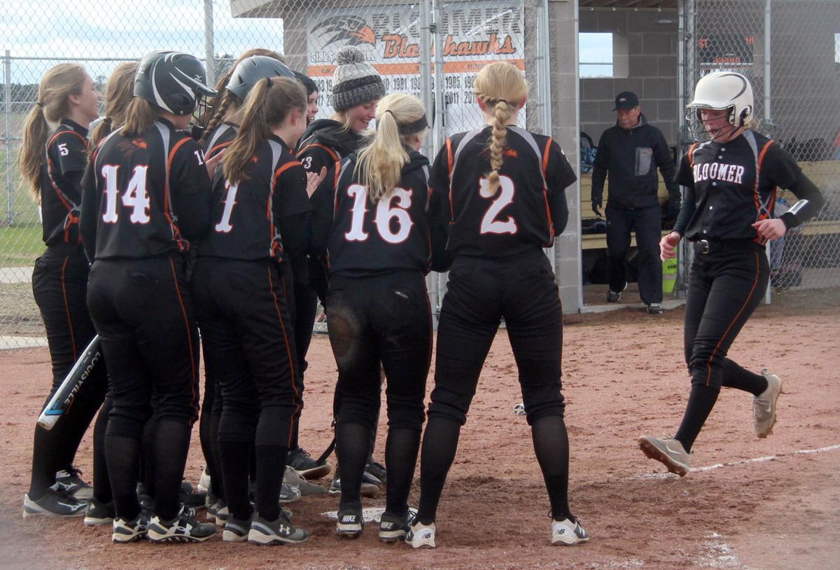 Hayward at Bloomer softball 5-9-19