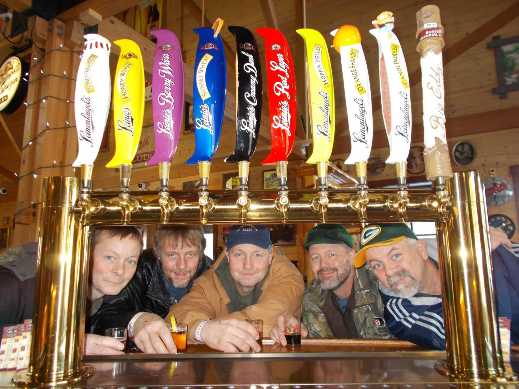 "Leinenkugel/'s Hoppin/' Helles Beer Tap Handle New /& Free Ship No Box 13/"" Tall"